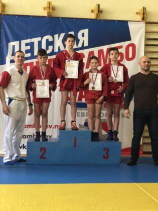 В Севастополе прошел I этап регионального турнира «Детская лига самбо»