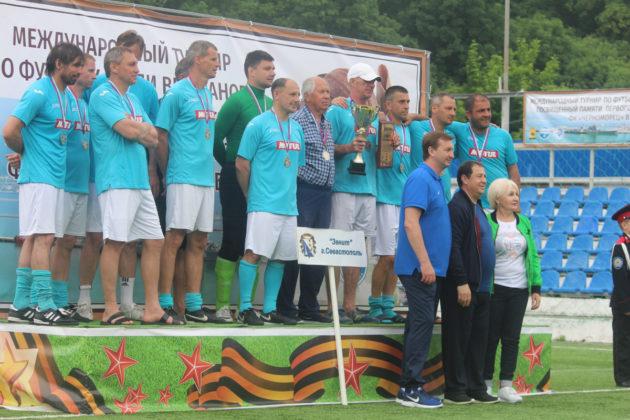 XI традиционный Международный турнир по футболу среди ветеранов в Новороссийске