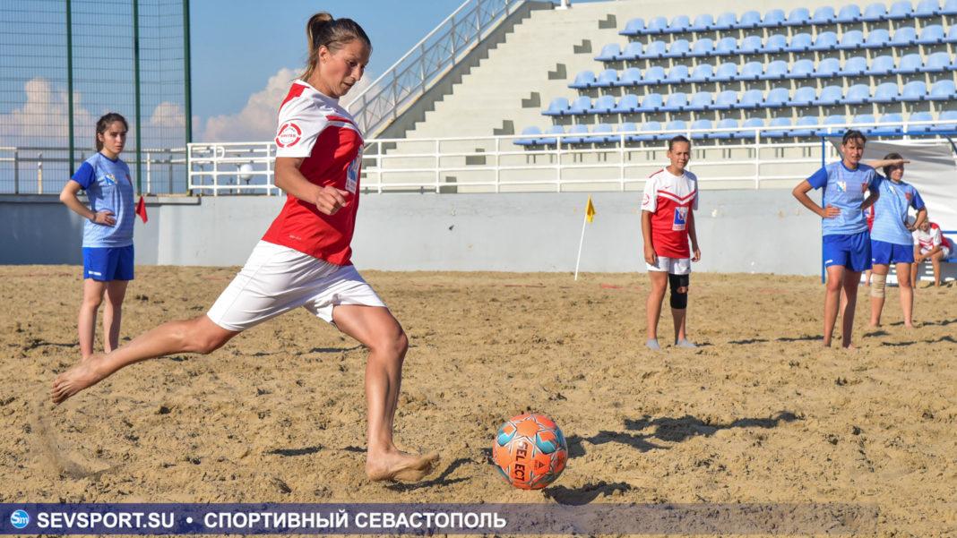 Спарта (ж) — Севастополь-1 (ж)