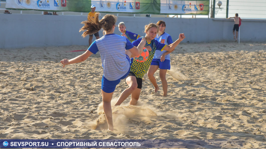 Спарта (ж) — Севастополь-2 (ж)