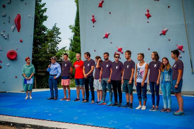 В Севастополе открыли скалодром мирового уровня