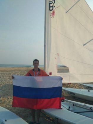 Пётр Горкунов - серебряный призёр международной регаты среди учащихся высших военно-морских образовательных учреждений