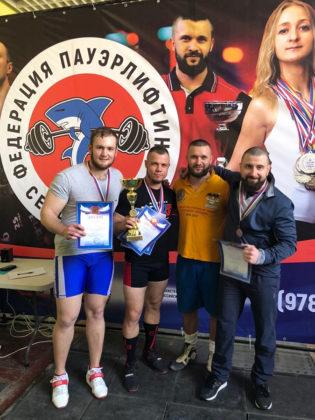 В Севастополе прошли чемпионат и первенство города по пауэрлифтингу