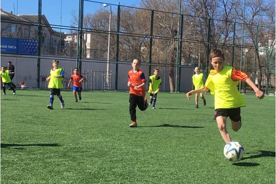 В Севастополе состоялось открытие регионального этапа Всероссийских соревнований «Кожаный мяч» 2020