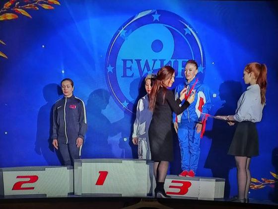 Дарья Дернова взяла на международном турнире по ушу «золото» и «бронзу»