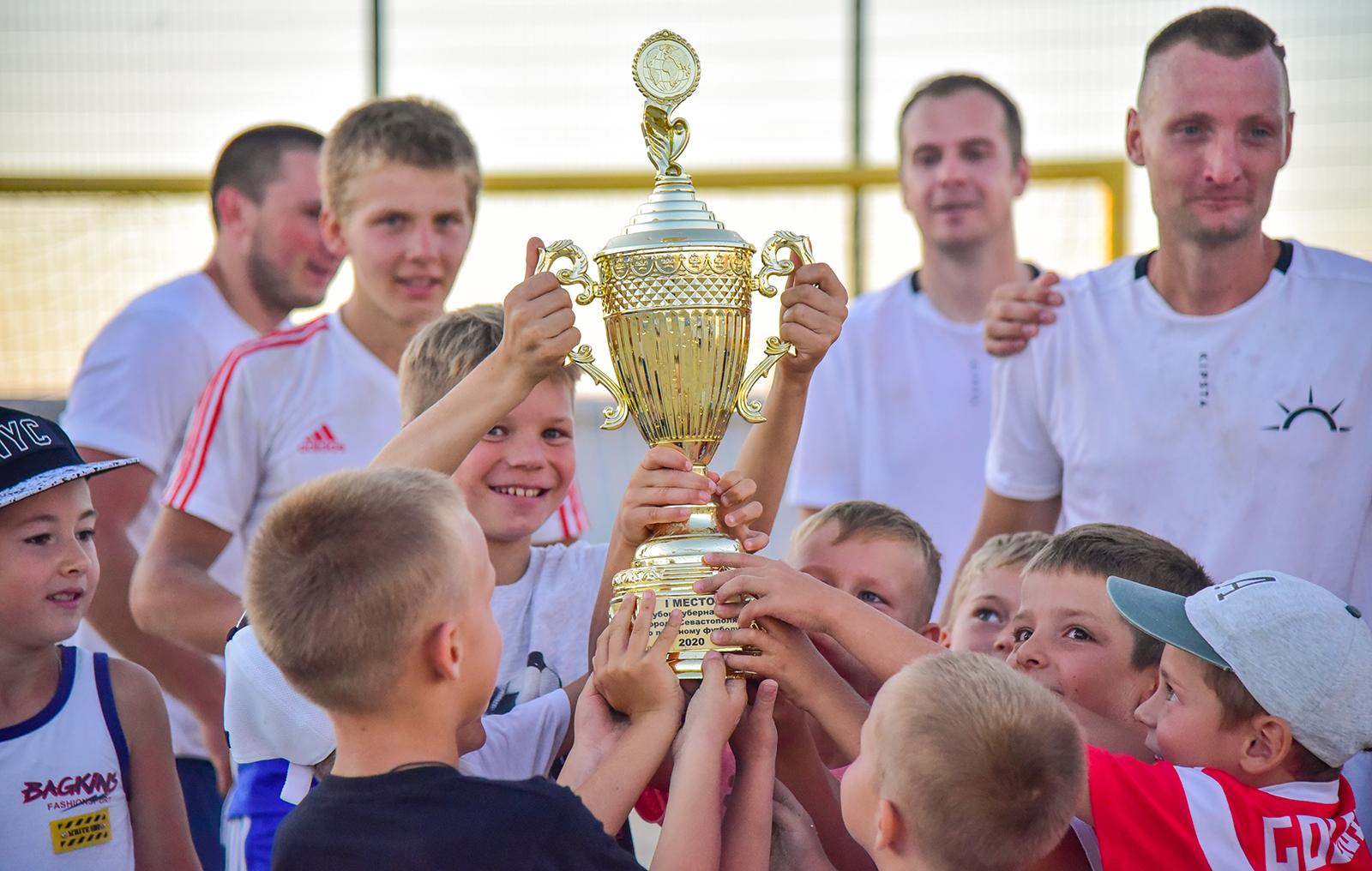 «Детонатор» стал победителем Кубка Губернатора города Севастополя по пляжному футболу — 2020