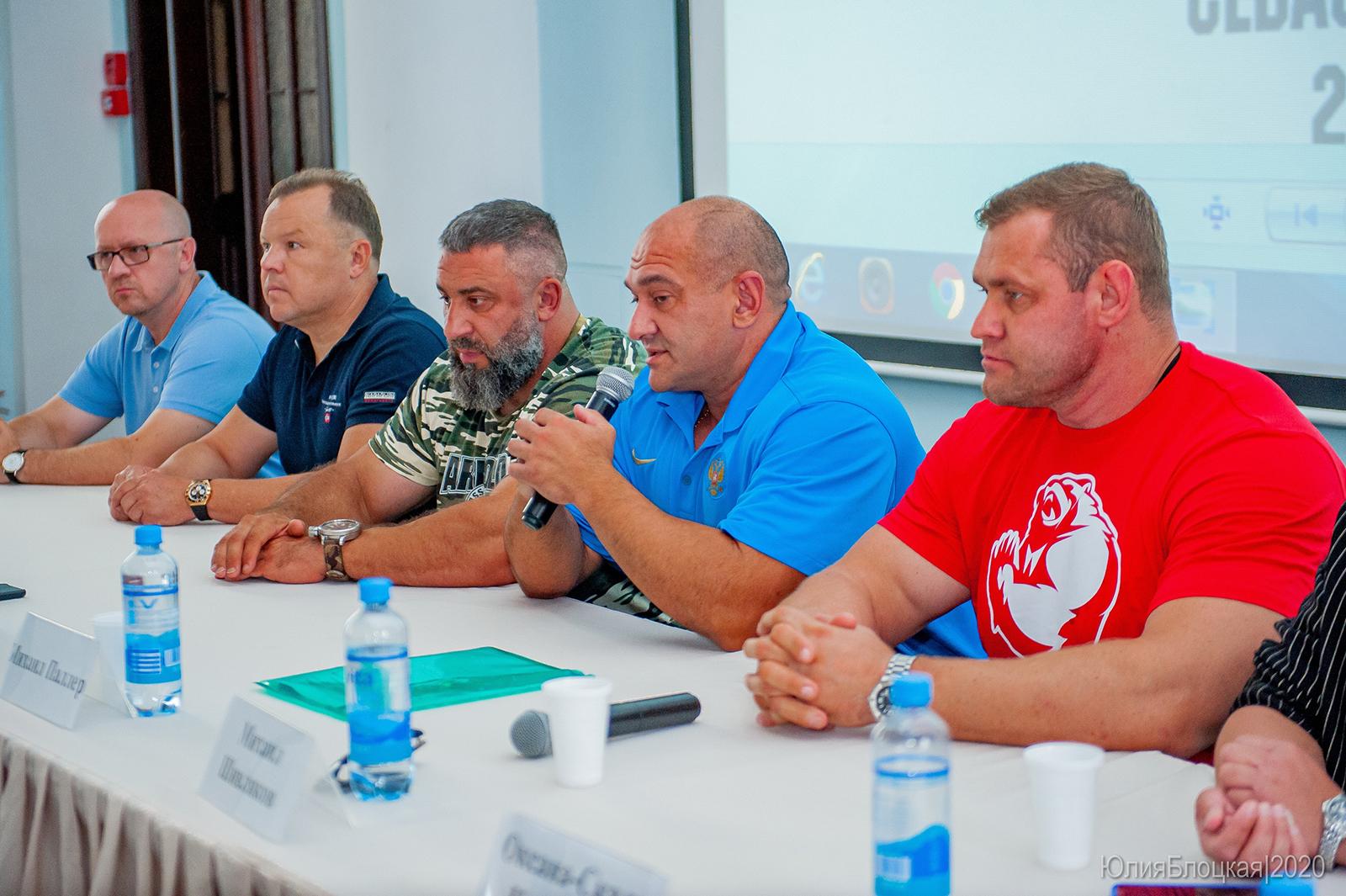 Перед стартом фестиваля силового экстрима сильнейшие атлеты России ответили на вопросы журналистов