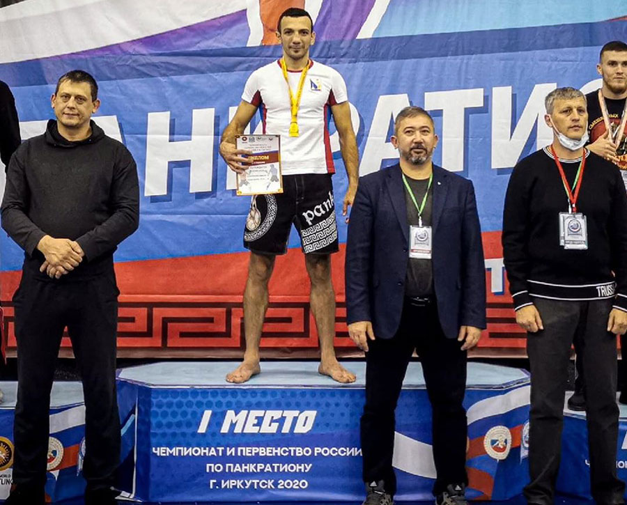 Сборная Севастополя успешно выступила в Чемпионате и Первенстве России по панкратиону
