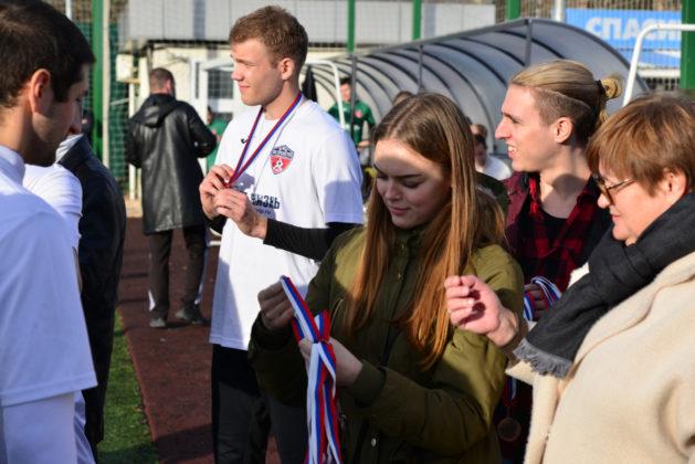«Прометей КВМБ 1» – обладатель Кубка Федерации футбола Севастополя по мини-футболу памяти С.В. Дёмина 2020 года