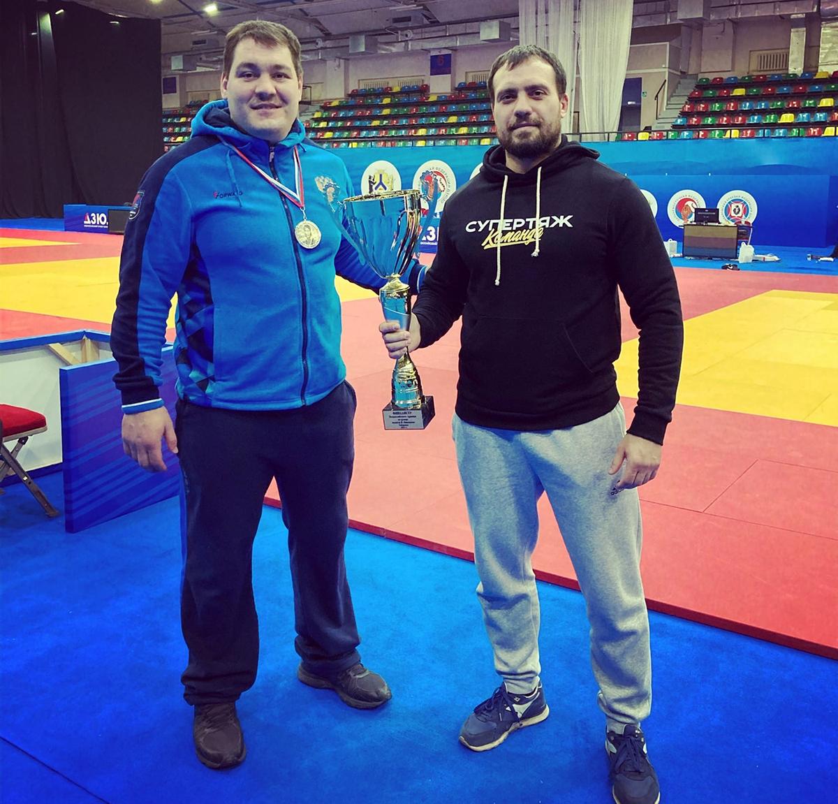 Антон Брачев завоевал «серебро» на Всероссийском турнире по дзюдо памяти Василия Ощепкова