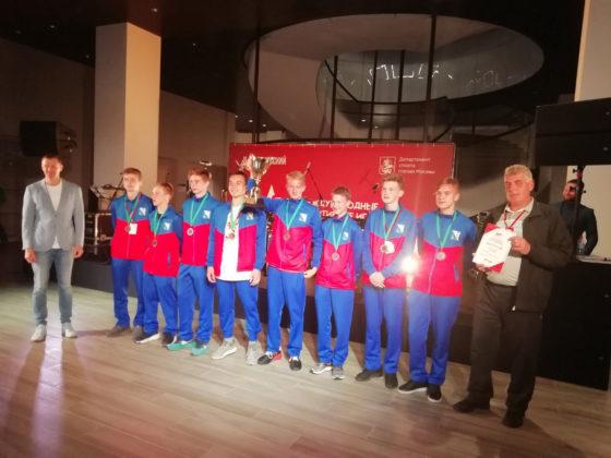 Команда СШ № 3 по футболу стала бронзовым призером XX Международных спортивных игр детей городов-героев