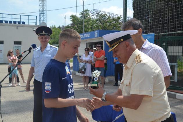 В Севастополе во второй раз прошел футбольный турнир «Кадетское братство»